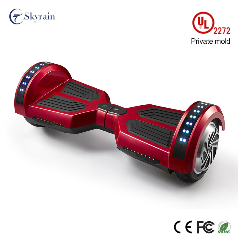 Electric self-balancing scooter with UL2272 certification