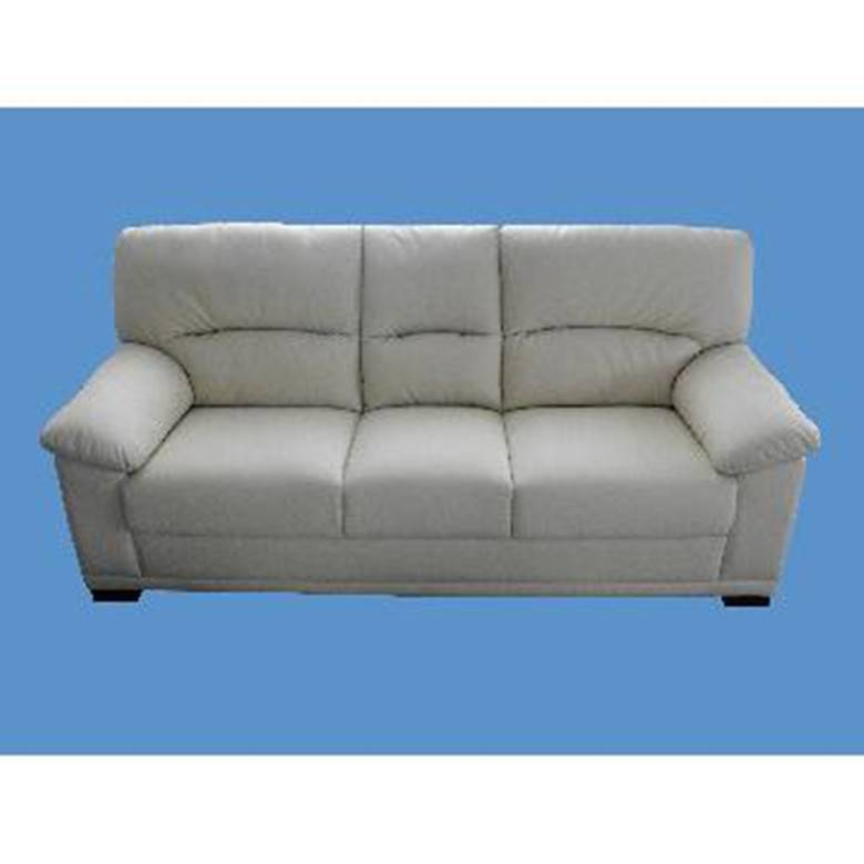 White leather sofa DHS-1330