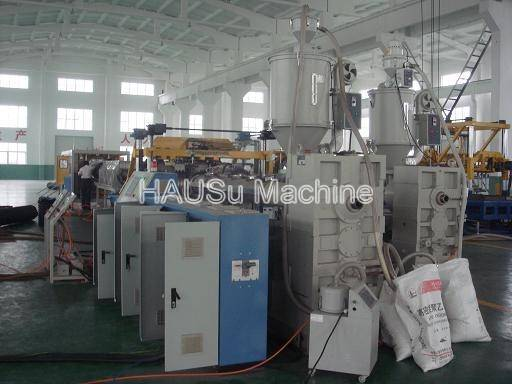 Corrugated Pipe Machinery_HDPE/PP Double Wall Corrugated Pipe Machinery Production Line