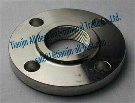 Stainless threaded flanges