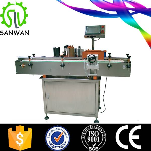new 2016 new 2016 glass bottles labeling machine for small business