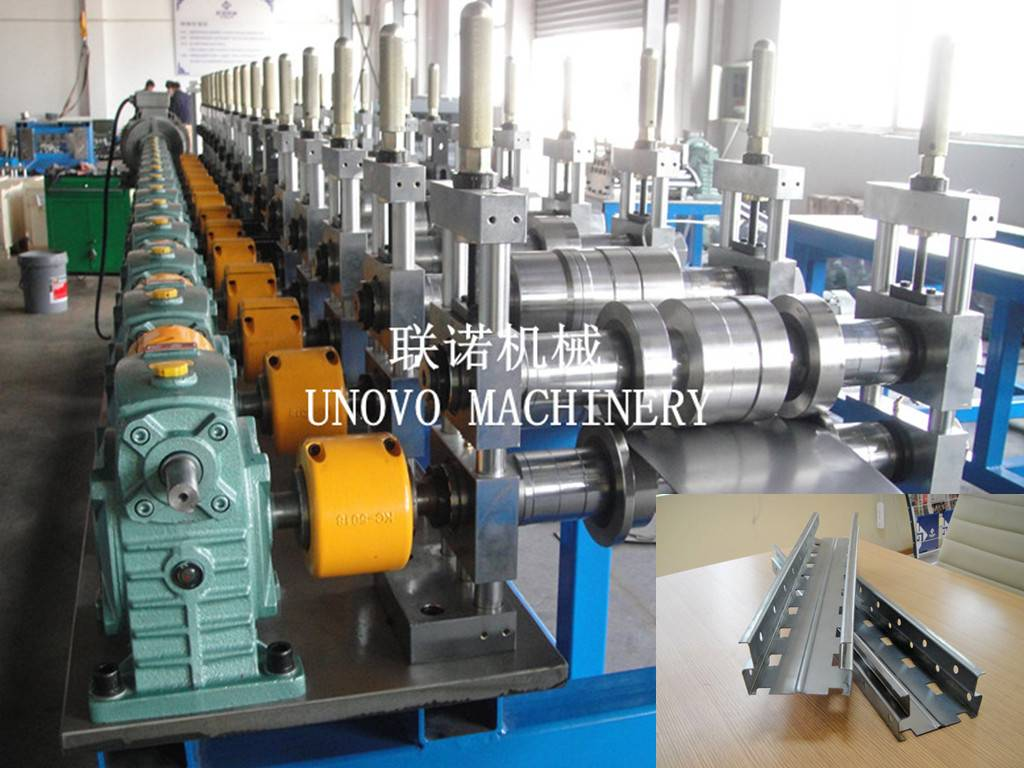 goods shelf roll forming machine