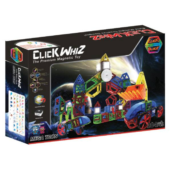 CLICKWHIZ MAGBOT-MEGATRON Educational magnetic block toy
