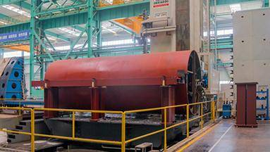 Fabricahtion and machining work for equipment used in offshore vessel