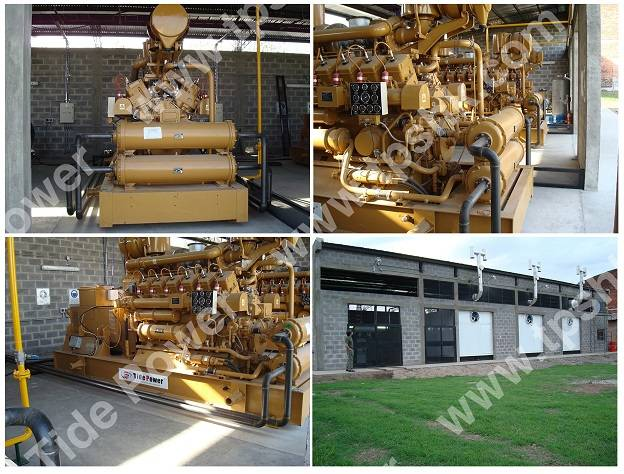 TPS 500KW Gas Generator Set