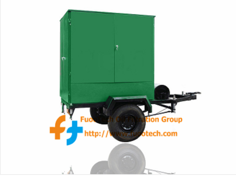 Series ZYD-O Mobile Fully Enclosed Type Vacuum Insulating Oil Treatment Plant