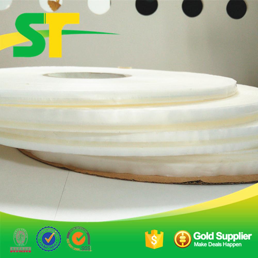 18mm HDPE Resealable BOPP/PE Bag Sealing Adhesive Tape for bags