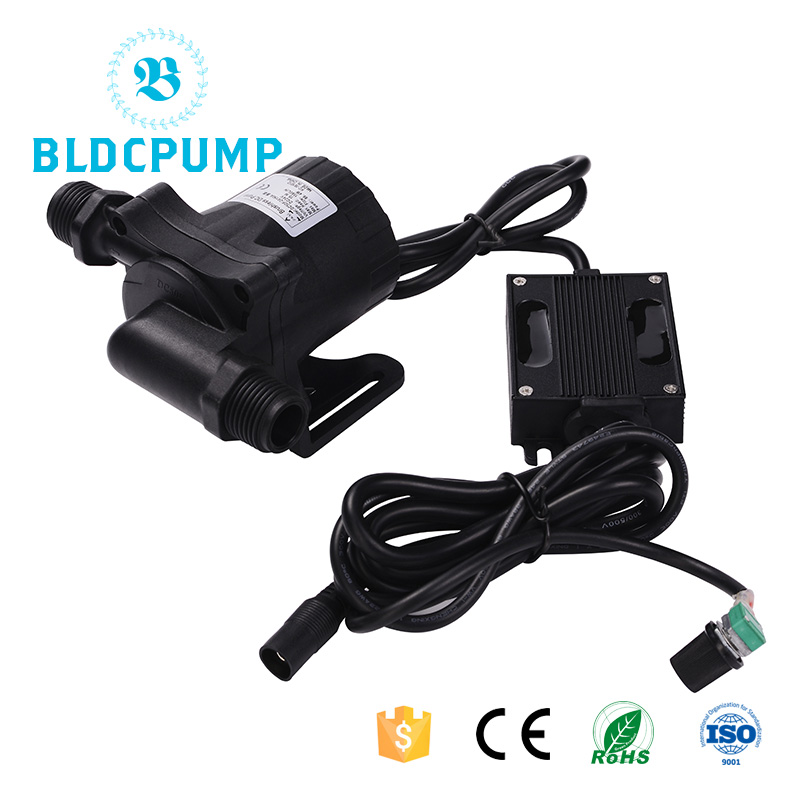 Bldc Pump For Hot Water 1560lph 15m Submersible For Solar Water Heater Solar Swimming Pool