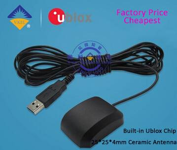 VK162 GPS Navigation Module GPS Receiver with Ceramic Antenna USB FACTORY PRICE Wholesale/OEM/Dropsh