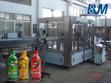 Juice Filling Machine Automatic For Tea Apple/Orange/grapefruit Juice Plant