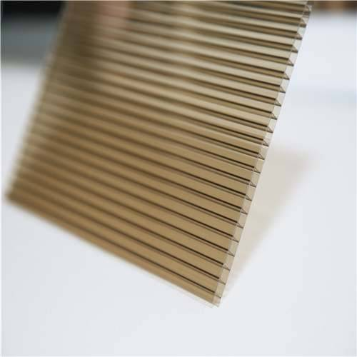 double wall polycarbonate sheet