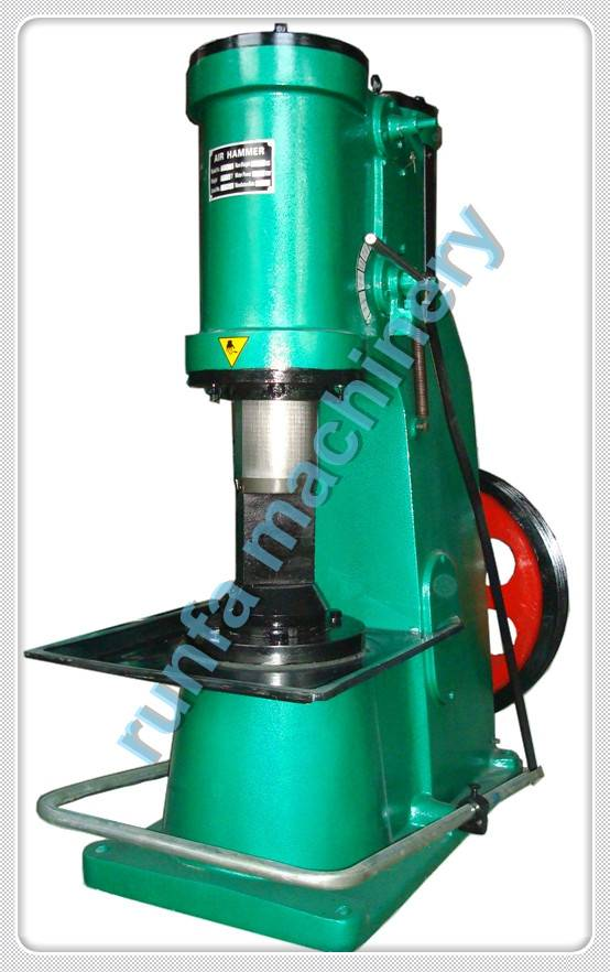 Small air power forging hammer C41-40KG for sale