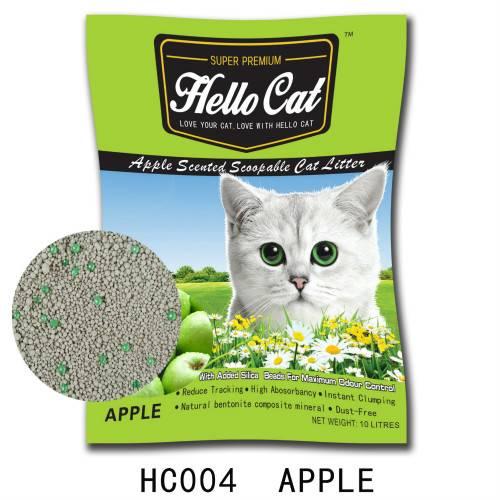 HC 004   Apple cat litter