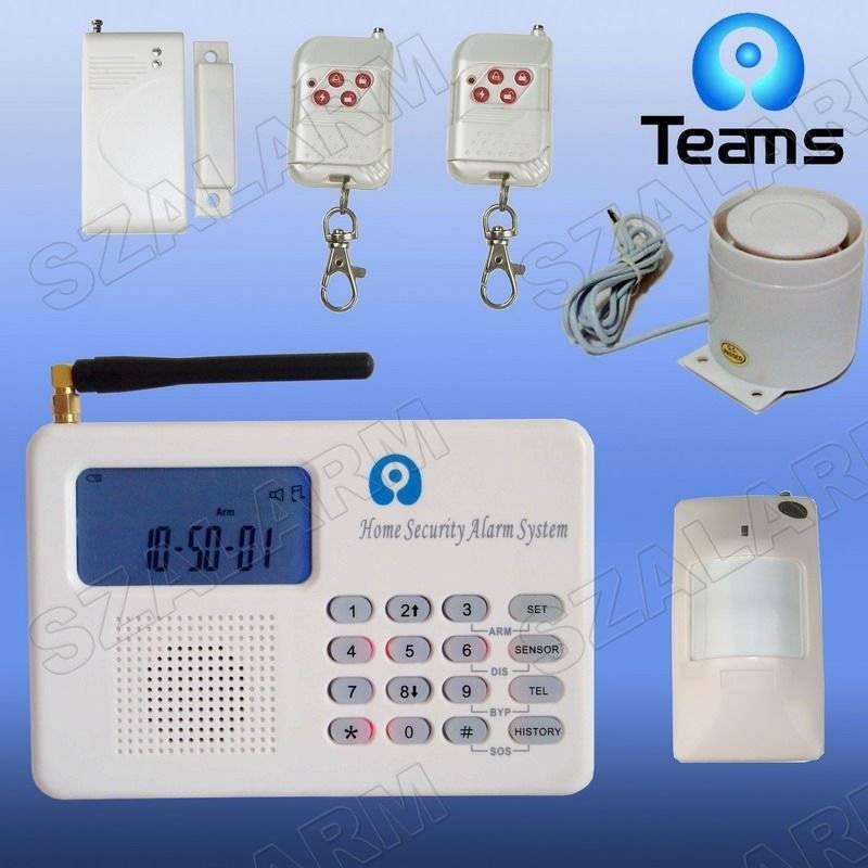 GSM&PSTN home security alarm