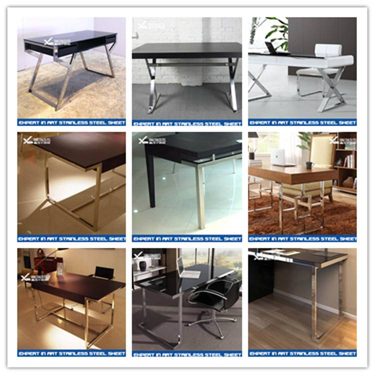 304 316 customized stainless steel furniture legs for table and sofa