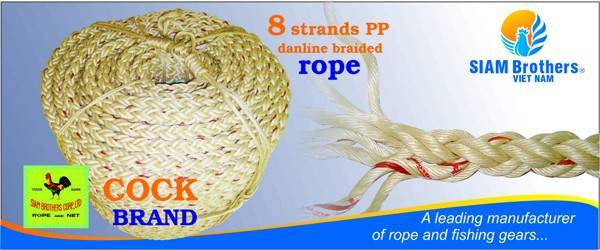 Rope - PP Rope ( 8 Strands) - L8 Rope - Cock Brand