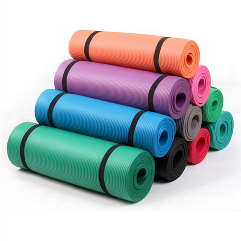 NBR Yoga Mats With Straps