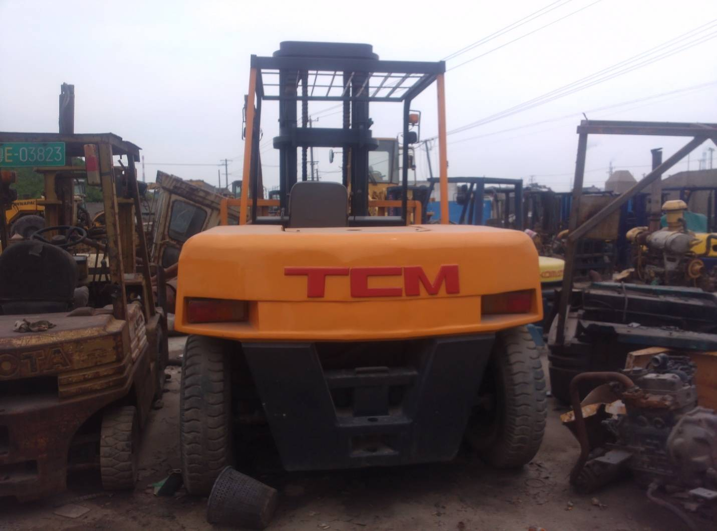 used Forklift TCM 100 Japan