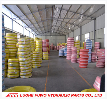 Hydraulic rubber hose approved maker from fuwo high pressure hose 2B-13 SAE