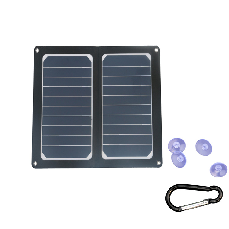 Hovall 12 Watt Foldable Solar Charger with USB Port