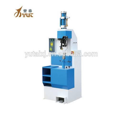 YT-256 Semi-automatic Pneumatic high Heel Nailing shoe making  Machine