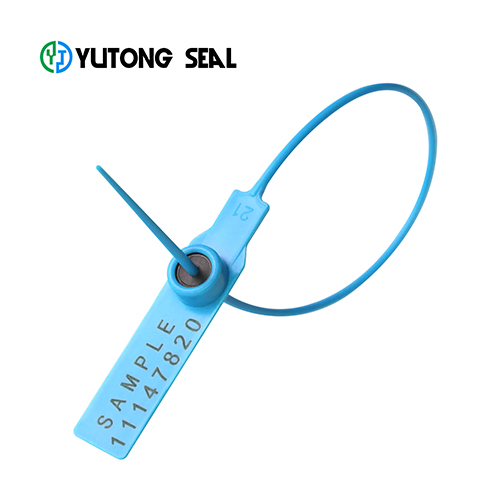 Disposable tamper proof plastic security lock seal