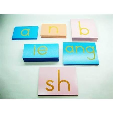 Montessori Chinese Standpaper letters