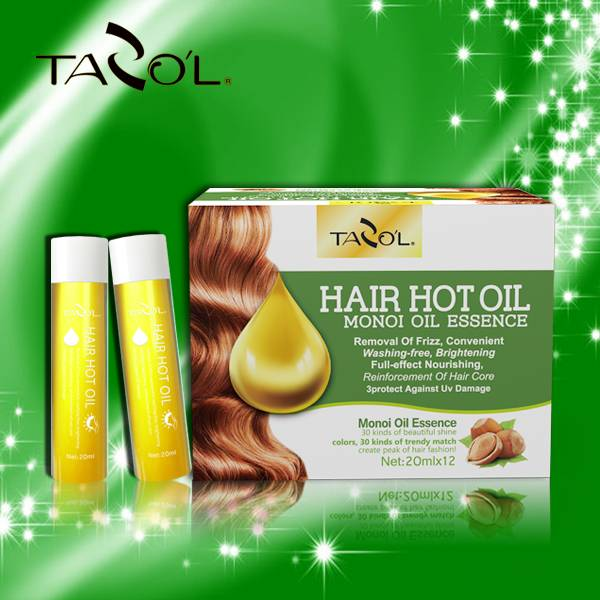 TAZOL Hair Hot Oil with Monoi Oil Essence