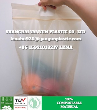 ECO Friendly Biodegradable Barrier Pouch Bag