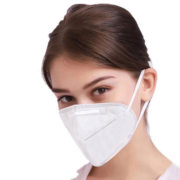 Custom Non-woven Earloop KN95 Disposable Protective Mask