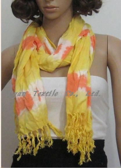 2012 lady's dip dyed sarves handdyed scarves