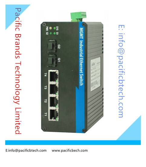 10/100/1000M Managed Industrial Ethernet Switches--- Pacific Brands Technology Limited