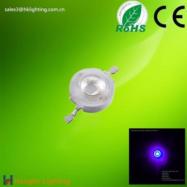 3w UV 390nm 395nm 400nm 405nm 410nm 410nm High Power LED Diode