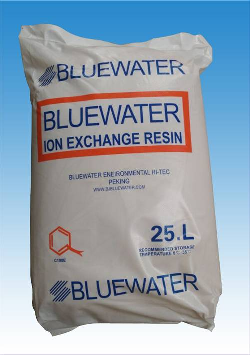 bluewater resin for water softener treatment