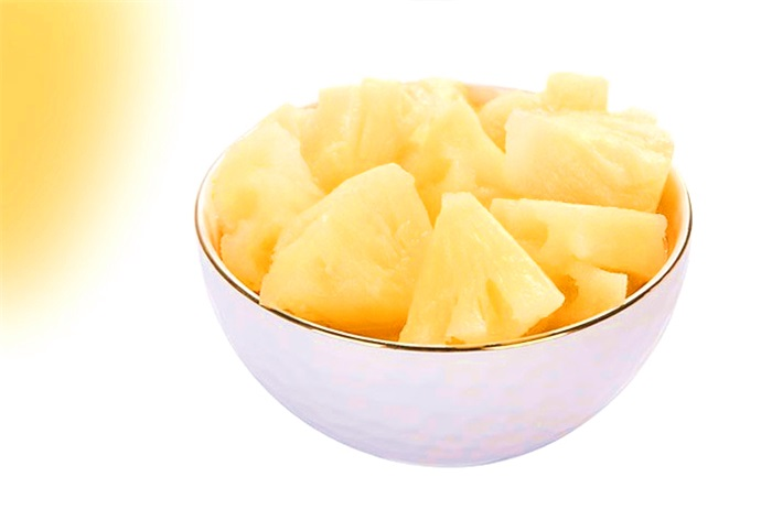 Canned Food, Canned Pineapple Chunks in Syrup