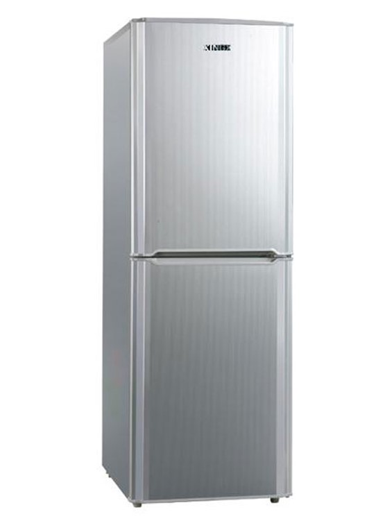 Double doors refrigerator with fridge and freezers 366L energy saving refrigerator