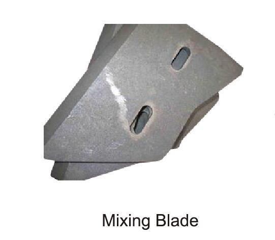 mixing blade of mixing plant