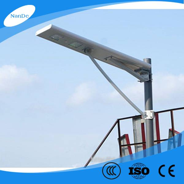 15-60W high quality all in one solar street light for projects