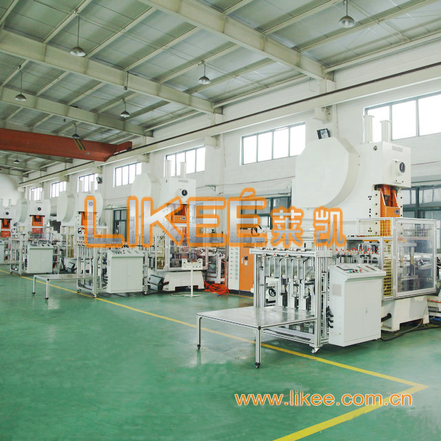 Foil container machine punching machines