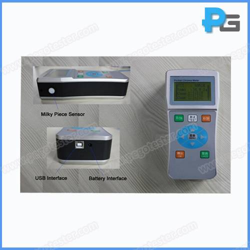 Led Testing Machine Portable Colorimeter used for testing Color Temperature, CC and CCT