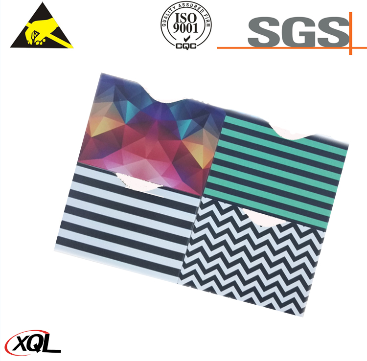 2017 new products rfid card sleeve manufacturer