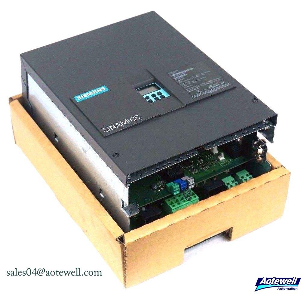 Siemens DC Drives Sinamics DCM 6RA80 Series
