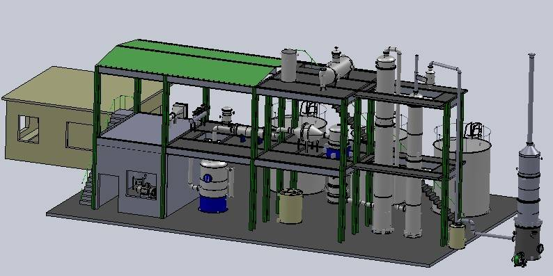 Formaldehyde production line