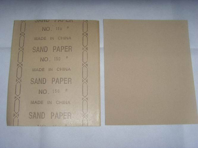 sand paper for wood and wall