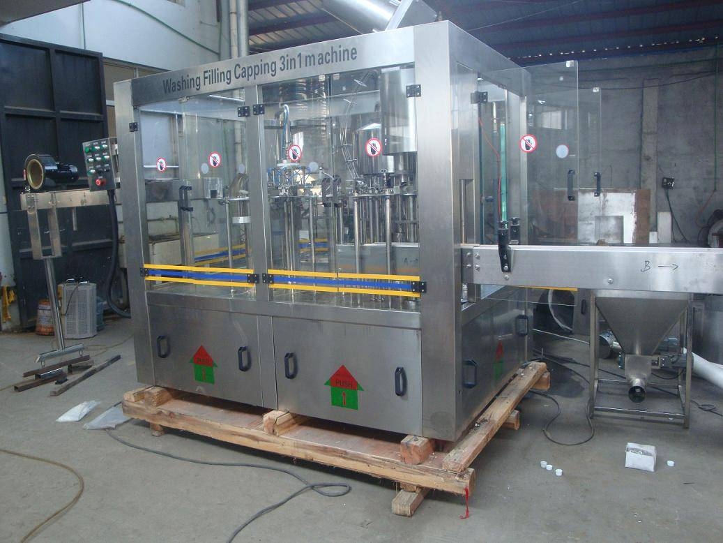 Mineral Water Filling Machine (XGF8-8-3)