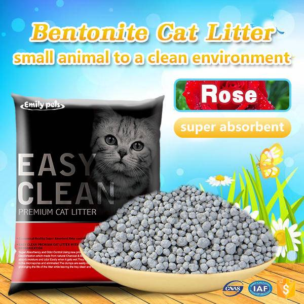 Emily Pets Bentonite Cat Litter Rose 5L