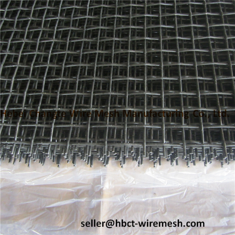 Heavy Duty 65 Mn Double Crimped Wire Mesh Professional For Quarries