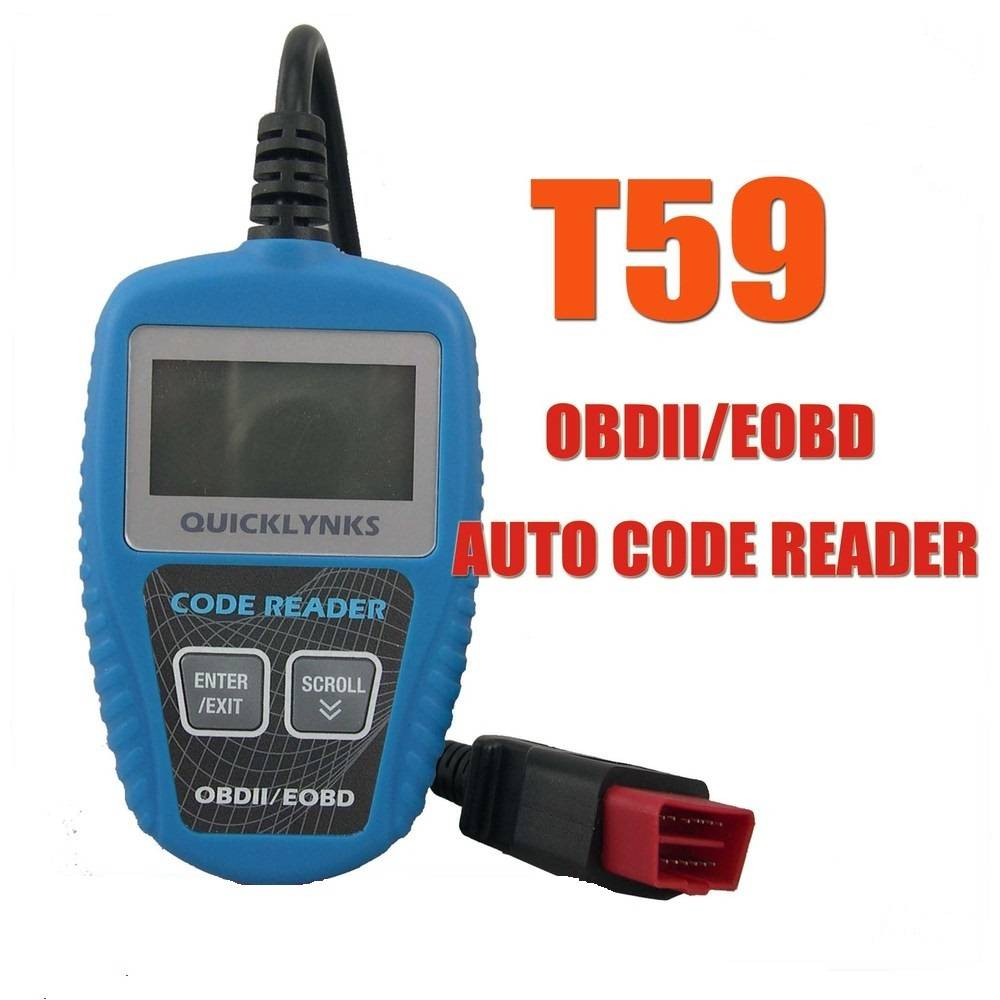 Car diagnostic scan tool Trouble Code Reader T59,New OBDII/EOBD Scanning Tool