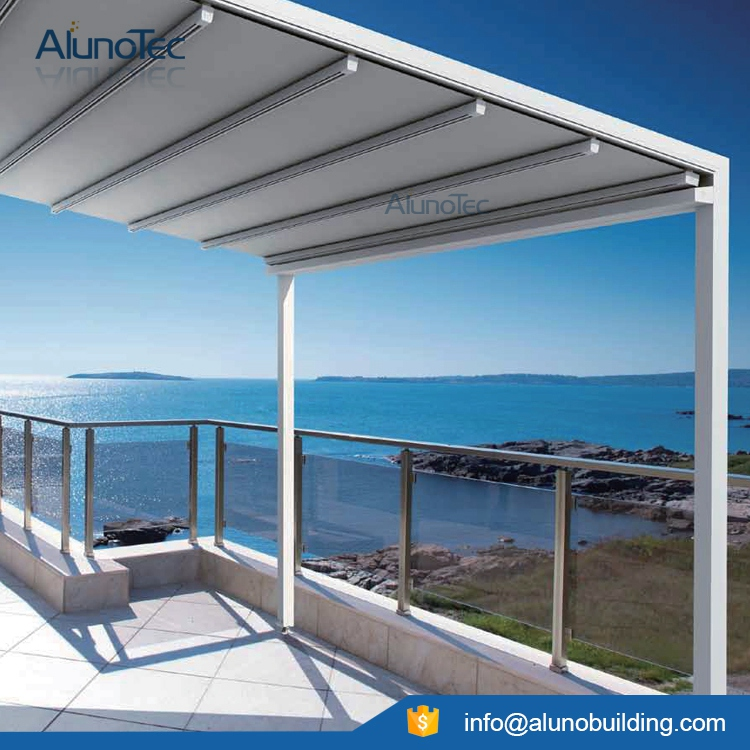 Aluminum Retractable Awning Pergola Sunshading Cover