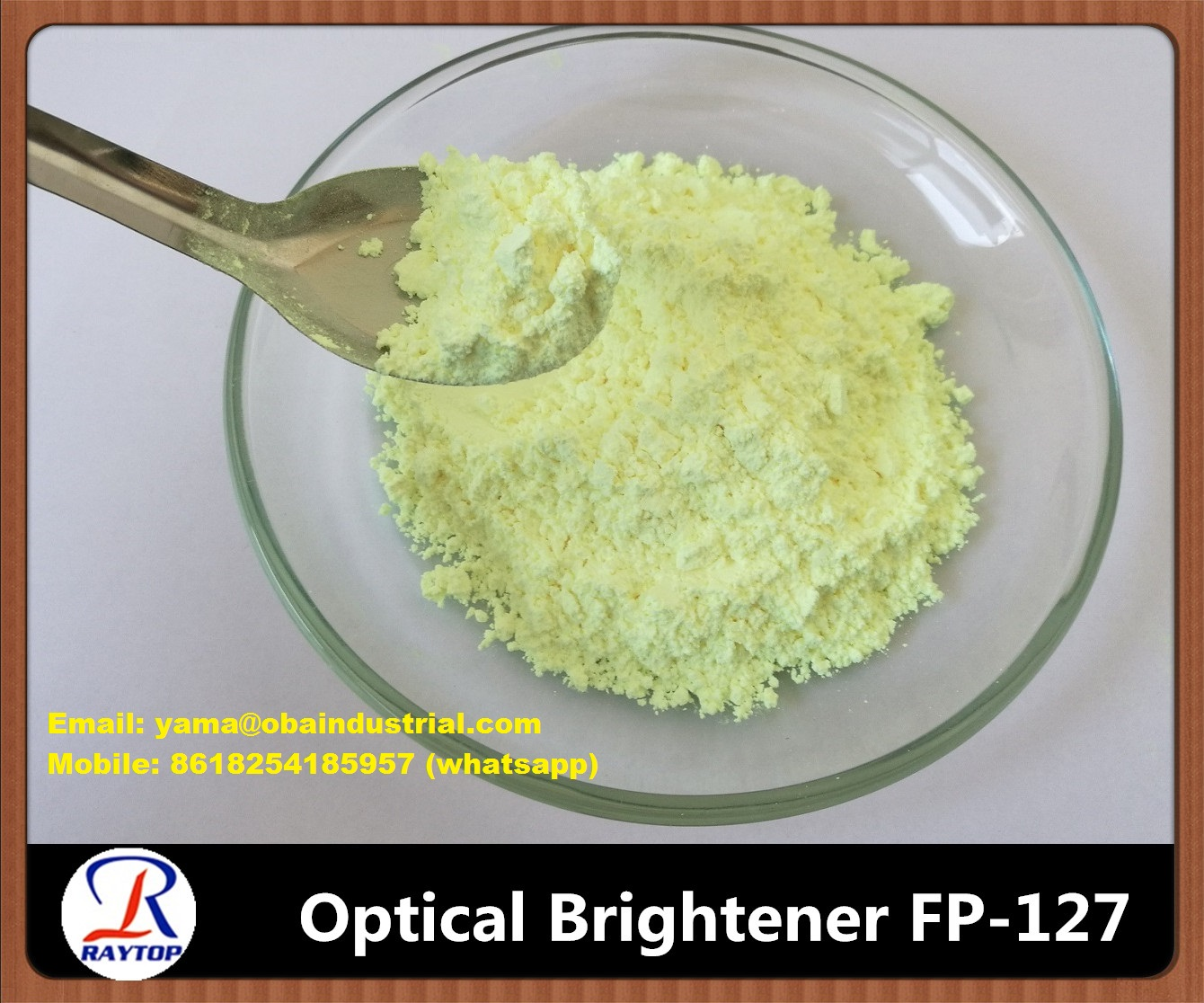 Optical Brightener for Plastics and Rubber FP-127 378